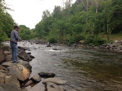 Fishing with Eric (eddie.welker) Tags: river fishing eric patuxent savage savagepark uploaded:by=flickrmobile flickriosapp:filter=nofilter