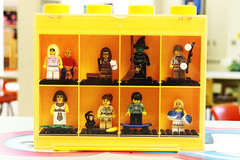 Lego in my office (heavenlyginger) Tags: lego minifigures legofigures legominifigs legominifigures legolibrarian