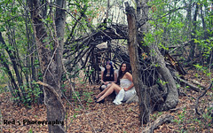 Fogg Couture Fairy Shoot (Red 5 Photography) Tags: brown white house nature leaves forest wings branches fairy red5 archway fairies fae steampunk thicket conceptshoot housefairy steampunkmodel red5photography nikond52001855mmbearcreekregionalparkcoloradofairy