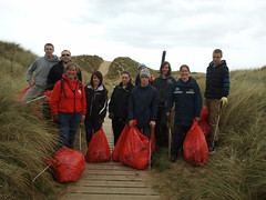 CAHA at Presthaven (Keep Wales Tidy) Tags: coast clean week ha clwyd alyn presthaven