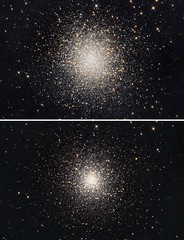 M13 the long and short of it (Terry Hancock www.downunderobservatory.com) Tags: camera sky monochrome night stars photography mono pier back backyard fotografie photos thomas space cluster great shed science images astro apo m observatory telescope astrophotography 1210 astronomy imaging messier ccd universe f8 cosmos technologies hercules paramount luminance lodestar teleskop m13 astronomie byo refractor globular deepsky f55 ngc6205 astrograph autoguider starlightxpress astrotech ritcheychrétien tmb92ss mks4000 gt1100s qhy9m