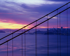 rise (louie imaging) Tags: birthday morning bridge light sunset sky sun sunrise dawn golden evening bay gate san francisco day glow fuji dynamic birth velvia wishes area fujifilm wish moment rise fiery splendor vps