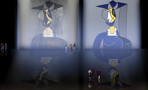 "Mujer en Gris, caracterización de Pablo Picasso (1942), recreación de Roy Lichtenstein (1962). • <a style=""font-size:0.8em;"" href=""http://www.flickr.com/photos/30735181@N00/8815917870/"" target=""_blank"">View on Flickr</a>"