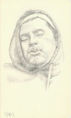Subway Series (Stephen Ford art) Tags: portrait pencildrawing