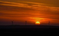 The Sun And The Wind (intrazome) Tags: light sunset england sun nature beautiful weather landscape nikon cornwall bodminmoor d5100