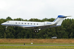N886WT (sabian404) Tags: cn plane private portland airplane airport qualcomm aviation international pdx g6 gulfstream bizjet kpdx gvi 6017 g650 glf6 n886wt