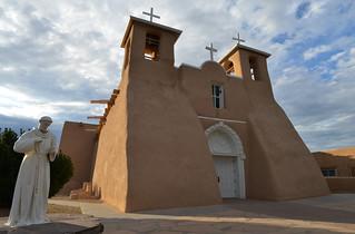 St Francis Assisi, Taos, NM