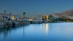 Plymouth Barbican (Rich Walker75) Tags: landscape longexposure digitalblending blue water plymouth devon uk england landscapes building architecture