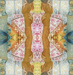 2016-07-20 symmetrical nude paintings 3 (april-mo) Tags: symmetry symmetrical symtrie nu nude painting experimentaltechnique collage art