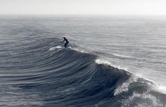 El hombre y el mar II (dagostino.gabriel) Tags: mar mardelplata azul oceano nikon d90 50mm ola luz amanecer dia atlantico argentina