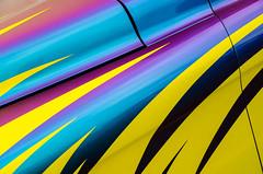 Do not adjust your screen (GmanViz) Tags: gmanviz color car automobile detail goodguysppgnationals nikon d7000 custom kustom 1959 chevrolet truck hood fender colorshift
