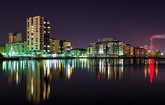 Cardiff bay reflection's (technodean2000) Tags: cardiff bay night landscape long exposure water waterfront skyline pier outdoor architecture city building nikon d610 d5100 d5200 d5500 d3100 d3200 d750 d810 apartments complex sky tower cloud dusk lake bridge