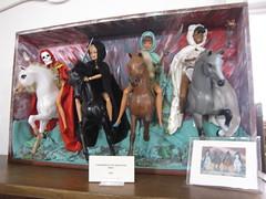Lavonne Sallee's custom Barbies (electrofreeze) Tags: lavonnesallee barbie barbies doll dolls custom unique crazy fantasy horror erotic vallejo california ooakstreet horsemen apocalypse fourhorsemenoftheapocolypse 4horsemenoftheapocolypse