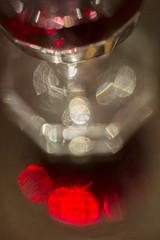 Sparkling Macro Monday - HMM! (suzanne~) Tags: mirror monday macro red wine reflection indoor macromondays inthemirror glass