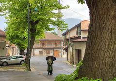 Sous la pluie  Sarajevo (Vincent Rowell) Tags: raw tonemapped balkans2016 bosniaandherzegovina sarajevo rain mosque
