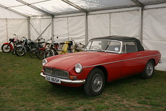 1969 MGB Roadster (davocano) Tags: sux865h mgb historicsatbrooklands carauction brooklands
