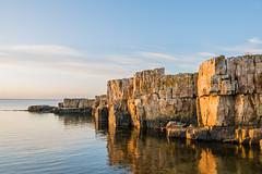 Morning by the Sea (Infomastern) Tags: simrishamn vrhallarna hav rock sea sky soluppgng sten sunrise vatten water exif:model=canoneos760d geocountry camera:make=canon exif:isospeed=100 camera:model=canoneos760d exif:focallength=18mm exif:aperture=50 geolocation exif:lens=efs18200mmf3556is geostate geocity exif:make=canon