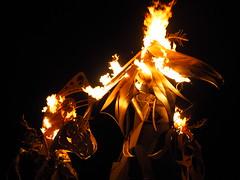 Le Attrata by Therm (michicat) Tags: burningman brc blackrockcity playa nevada burningmanatnight fire fireart