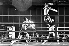 Muay Thai-03 (Sanjiban2011) Tags: muaythai thailand martialarts sports sport fastshutter combat selfdefense sportfight blackandwhite blackwhite nikon d750 fullframe fx nikon24120 monochrome