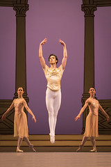 James Hay in Rhapsody, The Royal Ballet  2016 ROH. Photograph by Helen Maybanks (Royal Opera House Covent Garden) Tags: actionshot rhapsody production productionphoto theroyalballet byfrederickashton jameshay