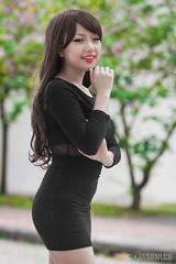 Mai - DX - 025 (jasonlcs2008) Tags: jasonlcs singapore fashion beautiful nice sexy good wonderful outdoor sunny woman girl lady photoshoot model modeling pose poses pretty tight mai black curve