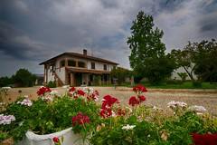 Una citt non vale pi di un giardino in campagna #EXPLORE# (Gianni Armano) Tags: una citt non vale pi di un giardino campagna casa fiori cielo natura foto gianni armano photo