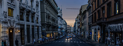 Rome (najam.saad) Tags: rome city ancient evening street streetphotography buildings italy intense eternal history