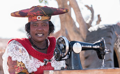 Local with Singer (Daniel Doswald) Tags: himba namibia