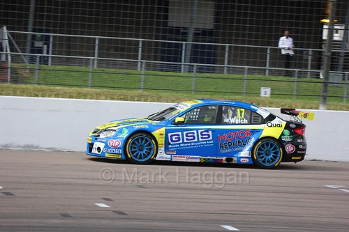 Dan Welch at Rockingham, August 2016