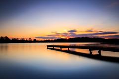 (Tim Scholz) Tags: saarland exposure long lake sunst sonnenuntergang reflexionen stausee langzeitbelichtung see am losheim 1200d eos canon