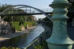 Coat-of-Arms (maxst001) Tags: 2016ayearinpicures 2016yip brücke flus fürallewieneryipmembers lampe onmywaytowork stadtpark wasser wienfluss bridge lamp river vienna365 water