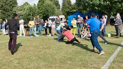 Down he goes (sasastro) Tags: 1bigmulticulturalfestival alexandrapark bangladeshisupportcentre bsc ipswich ipswichmulticulturalevent2016 kabbadi suffolk uk