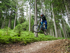get up (Hagbard_) Tags: mtb bike mountainbike freeride sterreich bockaufballern velo spass friends natur outdoor nature mtbisokay wagrain kitzsteinhorn everydayimshutteling