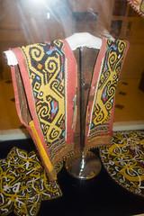 Aboriginal Sarawak bead vest (quinet) Tags: 2015 aborigène borneo iban kuching kuchingtextilemuseum malaysia perlen sarawak ureinwohner aboriginal beads native perles