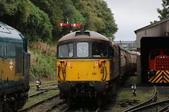33110   Bodmin & Wenford   Bodmin General (Jacob Tyne) Tags: class 33 33110 sentinel 37 37142 bodmin general wenford railway