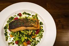 Salmon (trevorpopovits) Tags: salmon fish food dinner lunch plate cuisine restaurant venue ocean eat eats