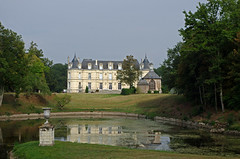 Charentilly (Indre-et-Loire) (sybarite48) Tags: charentilly indreetloire france chteaudepoill chteau burg castle   castillo  castello  kasteel zamek  castelo kale tang pond teich   estanque  stagno  vijver staw lagoa  glet