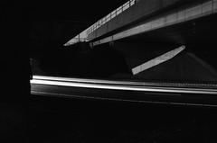 De Nieuwe Meer junction, Amsterdam, NH (Jickatrap) Tags: pentaxmz50 pentax 35mm  analog film filmphotography  bwfilm  ilforddelta delta400 blackandwhite noche  suburbia       newtopographics photographersontumblr urbanlandscape longexposure  amsterdam