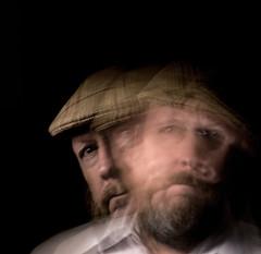 selfie (threechairs) Tags: selfie man hat blur portrait male