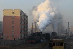 I_B_IMG_9140 (florian_grupp) Tags: asia china steam train railway railroad fuxin liaoning sy coal mine 282 mikado steamlocomotive locomotive