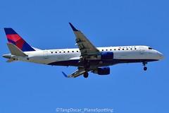 DSC_0193_741 (thokaty) Tags: castleisland pleasurebay kbos bostonloganairport n205jq deltaairlines deltaconnection shuttleamerica embraer e175lr erj175lr e175 erj175 eis2008