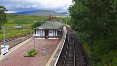 Rannoch Station (rimerbl) Tags: rannoch rannochstation thehighlands scotland leicadlux6 dlux6 leica platform railwaytrack schotland building