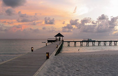 Twilight time at Maldivs mirihi(2) (sapphire_rouge) Tags: atoll   beach island coral resort mirihi sunset watervilla  tolopical lagoon maldives  mirihiisland ngc