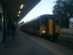 150270 @ Salford Crescent (ianjpoole) Tags: northern rail 150270 working 2j62 kirkby blackburn