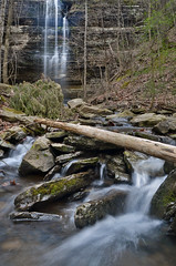 Cornelius Falls (Jeka World Photography) Tags: water waterfall log stream falls arkansas cascade hebersprings corneliusfalls jekaworldphotography jefrosephotography