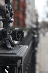 TGI ~~fence friday~~ lingering winter edition (rosy outlook photography) Tags: boston fence wroughtiron bostonma backbay tgi~~fencefriday~~lingeringwinteredition