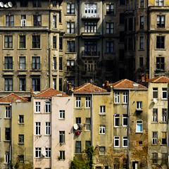 (morbs06) Tags: houses windows light shadow urban architecture turkey square landscape cities facades istanbul taksim