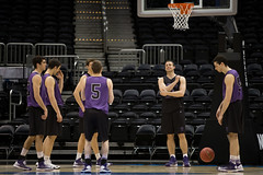 2013_04_06_RM_F4D3practice_005 (AmherstCollege) Tags: travel atlanta basketball georgia season coach team brothers stage massachusetts newengland player academia win nationalchampionship ncaa brotherhood omg amherst d3 cbs philipsarena academic determination amherstcollege liberalarts finalfour nescac d3hoops bigpix lordjeffs