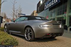 Aston Martin DBS Volante (Wannes P. Photography) Tags: car grey martin belgium cabrio supercar antwerpen aston matte volante dealer dbs