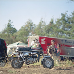 (shimobros) Tags: film bike japan race vintage fuji offroad union dirt bronica 400 squareformat moto motorcycle motocross sq basic pn 2012 acts 200m epo 150m zenza vmx adobelightroom  vintagemotocrossmeeting